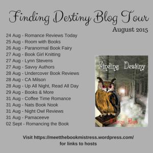 Finding Destiny Blog Tour