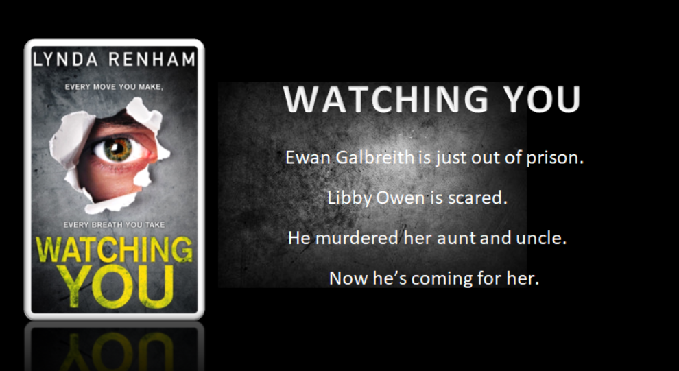 Welcome Lynda Renham Talking About Her New Release Watching You