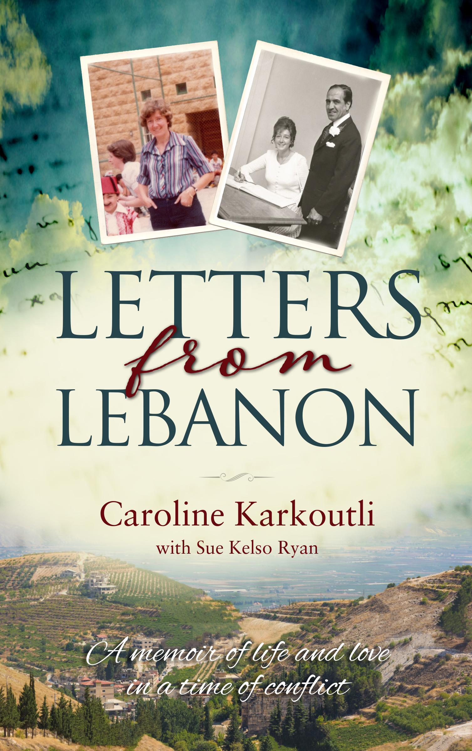 New Release Letters from Lebanon by Caroline Karkoutli and